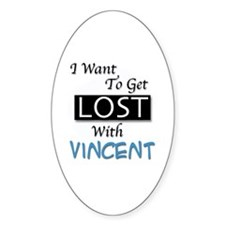 Get Lost With Vincent Decal