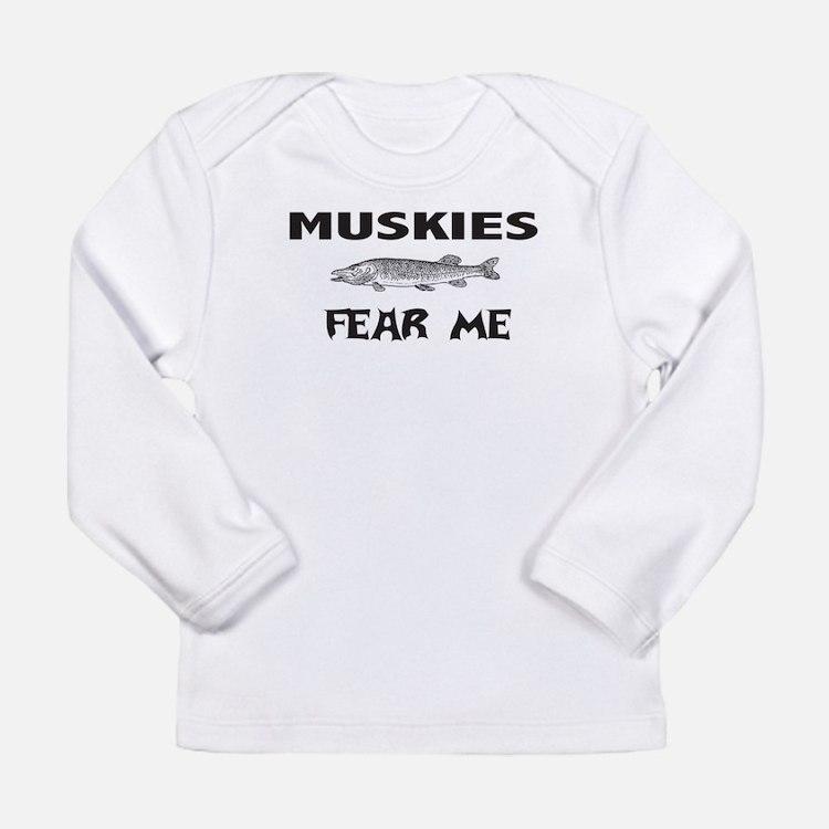 fish fear me Long Sleeve Infant T-Shirt