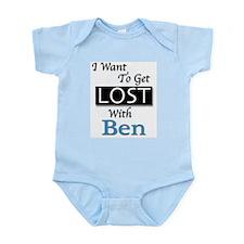 Get Lost With Ben Infant Bodysuit