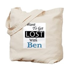 Get Lost With Ben Tote Bag