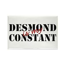 Desmond Is My Constant Rectangle Magnet