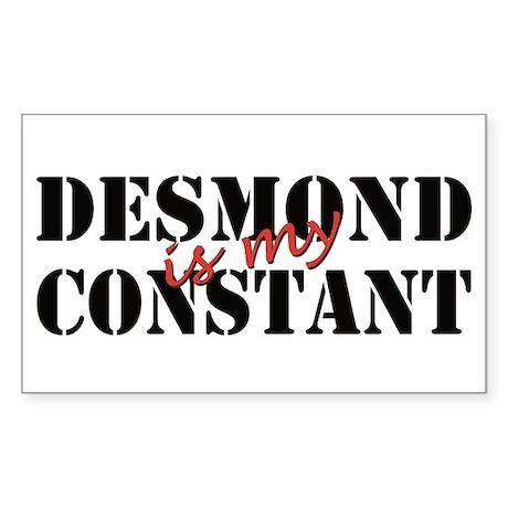 Desmond Is My Constant Sticker (Rectangular)