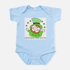 Leprechauns need love too Infant Bodysuit
