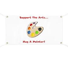 Hug A Painter! Banner