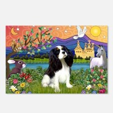 Tri Cavalier Fantasy Postcards (Package of 8)