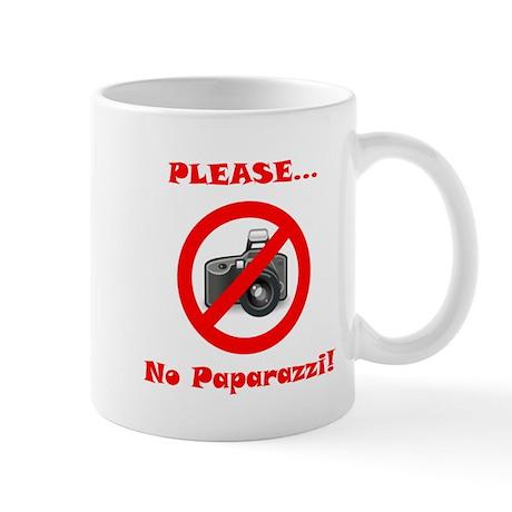 Please No Paparazzi! Mug