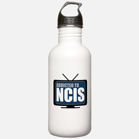 Addicted to NCIS Water Bottle