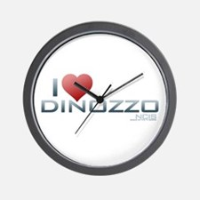 I Heart DiNozzo Wall Clock