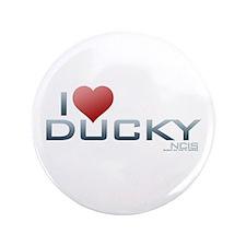 "I Heart Ducky 3.5"" Button"