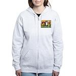 Cherubs / Aussie (tri) Women's Zip Hoodie