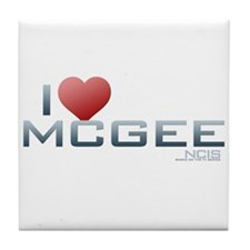 I Heart McGee Tile Coaster