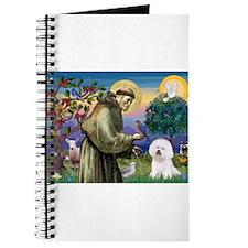 St Francis / Bichon Frise Journal