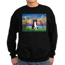 Guardian (#2) / Border Collie Sweatshirt