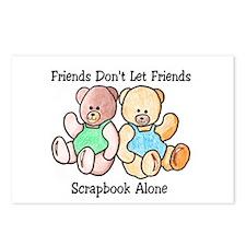 Scrapbook Friends Postcards (Package of 8)