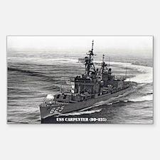 USS CARPENTER Decal