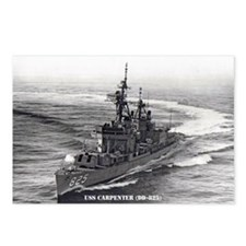 USS CARPENTER Postcards (Package of 8)