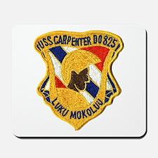USS CARPENTER Mousepad