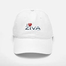 I Heart Ziva Baseball Baseball Cap
