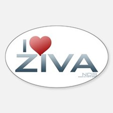 I Heart Ziva Decal