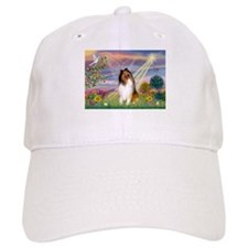 Cloud Angel & Collie Baseball Cap