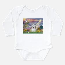 Cloud Angel & Coton Long Sleeve Infant Bodysuit