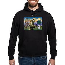 St Francis / Coton de Tulear Hoodie