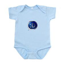 BlueCrush Silver - :D Infant Bodysuit