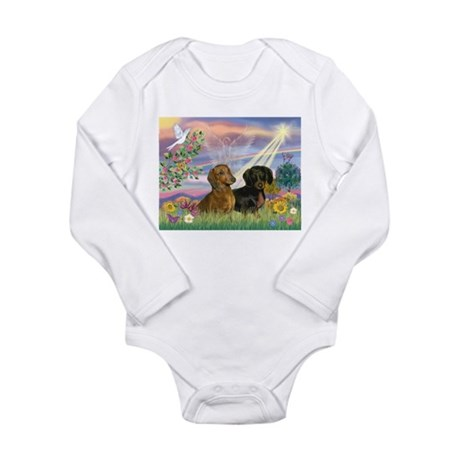 Cloud Angel Doxies Long Sleeve Infant Bodysuit
