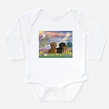 Cloud Angel Doxies Long Sleeve Infant Bodysuit