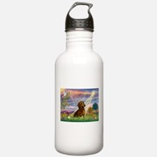 Cloud Angel & Dachshund Water Bottle
