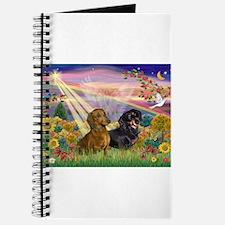 Autumn Angel / Dachshund pair Journal