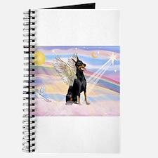 Dobie Angel in Clouds Journal