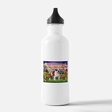 Autumn Angel /Bulldog Water Bottle