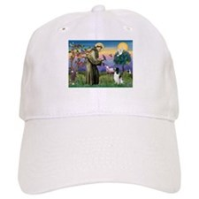 St Francis /English Springer Baseball Cap