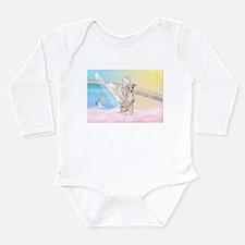 Italian Greyhound / Angel Long Sleeve Infant Bodys