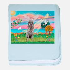 Angel Star / Spinone(12) (r) baby blanket