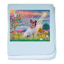 Cloud Angel / JRT baby blanket