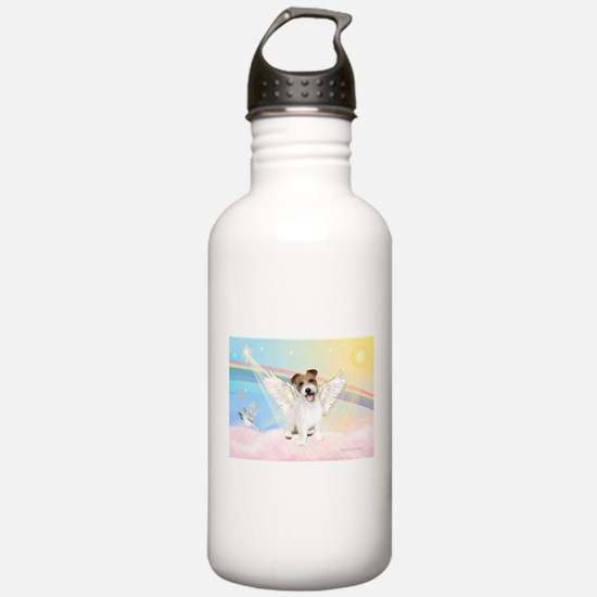 Angel /Jack Russell Terrier Water Bottle