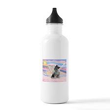 Angel/Keeshond Water Bottle