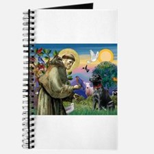 St Francis / Lab (black) Journal