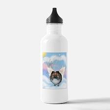 Brindle Pom Angel Water Bottle