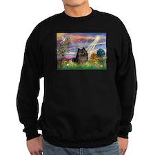 Cloud Angel Brindle Pom Sweatshirt