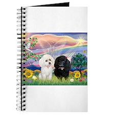 Cloud Angel & 2 Poodles Journal