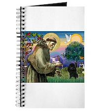 St Francis / Poodle(blk min) Journal