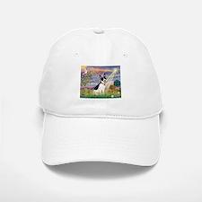 Cloud Angel / Rat Terrier Baseball Baseball Cap