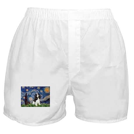 Starry Night Cavalier Boxer Shorts