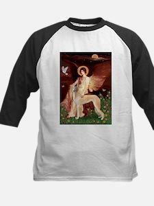 Seated Angel / Saluki Kids Baseball Jersey