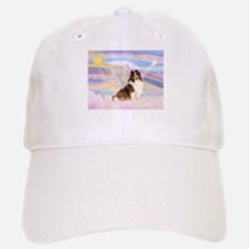 Sable Sheltie Angel Baseball Baseball Cap