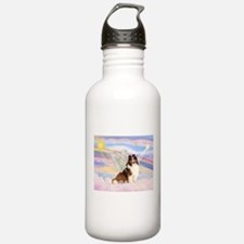 Sable Sheltie Angel Water Bottle