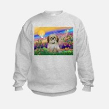 Guardian Angel & Shih Tzu Sweatshirt